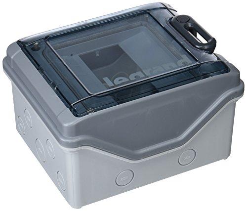 Legrand Aufputzverteiler IP65 IK09 1-reihig 6TE 200 x 164 x 115,6 mm, 601976