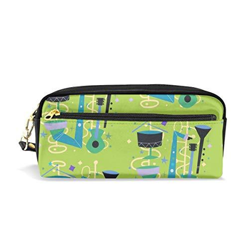 Midcentury Modern Live Music_206 Cosmetic Bags Astuccio portatile da viaggio Trucco Organizer Borse multifunzione per le donne