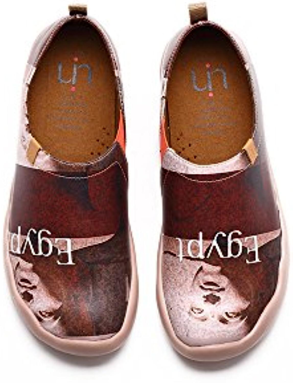 UIN Egipto Zapato de cuero viaje marrón para los hombres (43)