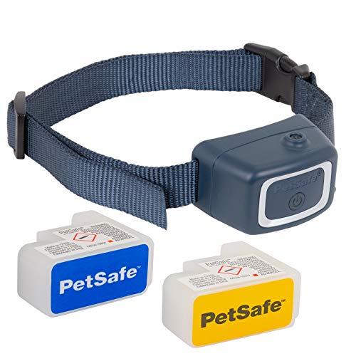 PetSafe Anti-Bell Halsbrand Spray Control, mit wiederaufladbaren Batterie und Nachfüllpatronen, effektives und tierfreundliche Trainingsmethode, spritzwassergeschützt, Hunde Training Erziehung