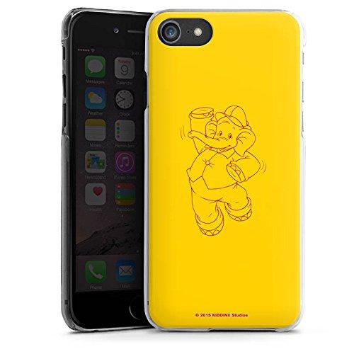 Apple iPhone X Silikon Hülle Case Schutzhülle Benjamin Blümchen Fanartikel Merchandise Elefantentanz Hard Case transparent
