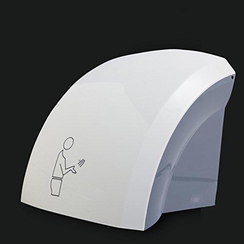 Sèche-mains Automatique à Grande Vitesse,Sèche-mains Commercial Surface Montée Air Chaud Rapide Séchoir Automatique