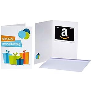 Amazon.de Grußkarte mit Geschenkgutschein - 20 EUR (Geburtstagsgeschenke)