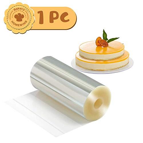 Marca: HOMEWINS Color: transparente Material: 125 micras pp Temperatura de cocción: 0 ℃ ~ 60 Tamaño: 8 cm × 10 m × 125 micras 10 cm × 10 m × 125 micras Peso: 90 g (10 mx 8 cm), 100 g (10 mx 10 cm)  Aviso Manténgase alejado del fuego. Una garantía de ...