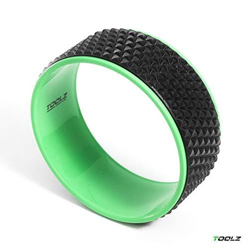 TOOLZ Yoga Ring 32cm – Rutschfestes Yoga Rad zur Rücken Streckung und Dehnung