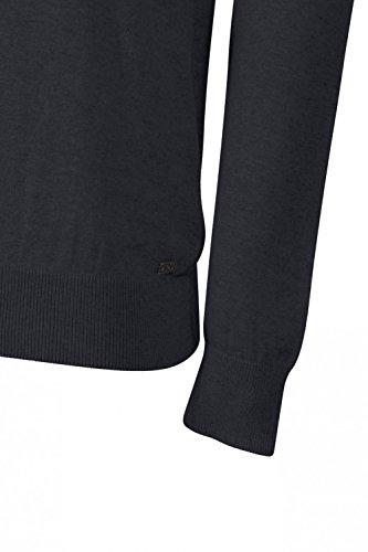Kensington Eastside Herren Jumper Pullover, Einfarbig grau grau Small True Navy - Blue