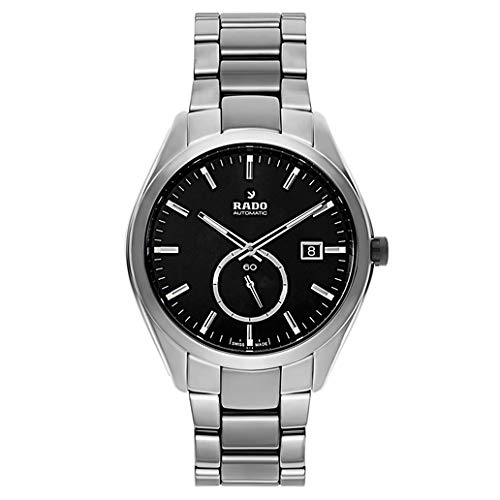 Rado Hyperchrome Ceramic Mens Watch Sunburst Dial Bracelet Strap Automatic r32025152