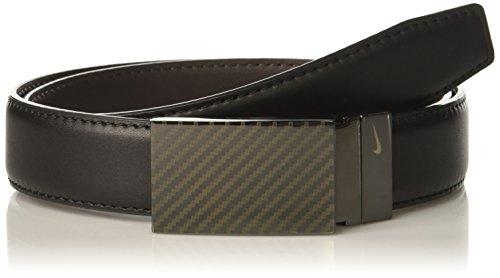 Reversible Plaque Belt (Nike Men's Carbon Fiber Plaque Reversible Belt)