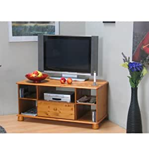 eck tv tisch madison 5 ablagen 1 schublade. Black Bedroom Furniture Sets. Home Design Ideas