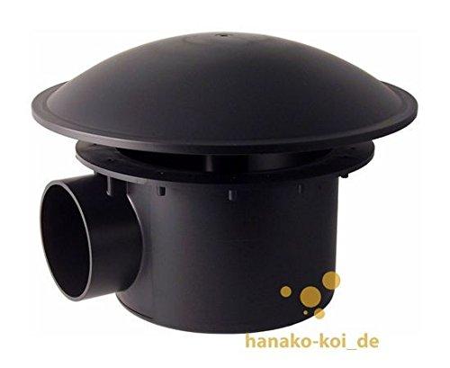 AquaForte Bodenablauf mit Kammer und Bogen, schweres Modell, 110 mm