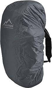 normani Wasserdichter Regenueberzug Raincover Regenhülle für Backpacks Rucksack Farbe Anthrazit Größe 80-90 Liter