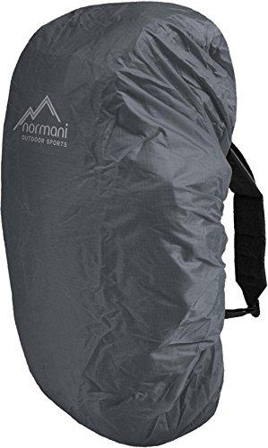 wasserdichter Regenueberzug Raincover Regenhülle für Backpacks Rucksack Farbe Anthrazit Größe 60-70 Liter