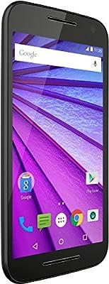 Motorola Moto G 3. Generation Smartphone (12,7 cm (5 Zoll ) Touchscreen-Display, 16 GB Speicher, Android 5.1.1) weiß