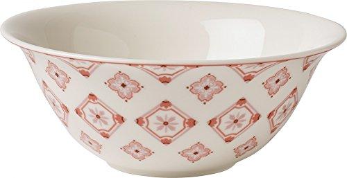Villeroy & Boch Caro große Schale, Geschirr aus hochwertigem Premium in modernem Rosé, 1, 2 l Schüssel, Porzellan, Weiß, 20.7 x 20.7 x 8 cm