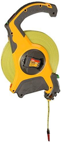 Fisco Tools SB200E Surveyor-Feets Fiberglass Long Tape, 1/2-Inch by 200-Feet -