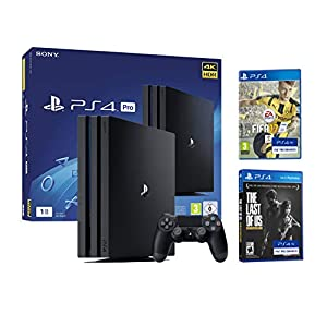 Playstation 4 Konsole PS4 PRO 1Tb – 4K – FIFA 17 + The Last Of Us: Remastered
