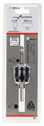 Preisvergleich Produktbild Bosch Pro Power-Change-Adapter mit 8-mm-Sechskantaufnahmeschaft für Lochsägen Sheet Metal