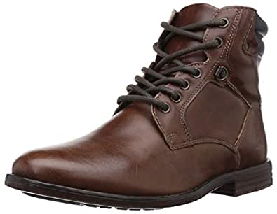 Ozark by Red Tape Men's Tan Boots-7 UK/India (41 EU) (OZC0173B)