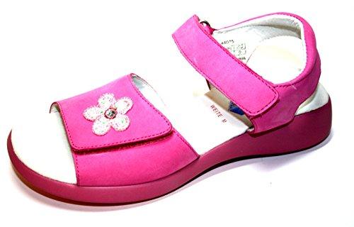 Le petit muck-franzi chaussures des chaussures pour enfants, sandales pour fille Rose - Rose