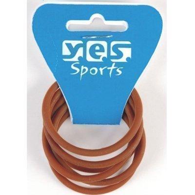 Solida Y.E.S Sports Silikonzopfabbinder, 1er Pack (1 x 6 Stück)