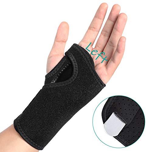 Handgelenk Bandagen Schienen, Atmungsaktive Karpaltunnelsyndrom Handgelenk Support Kompressionsband für Karpaltunnel, Arthritis, Sehnenentzündung. Karpaltunnelschiene zur Schmerzlinderung, Linke Hand