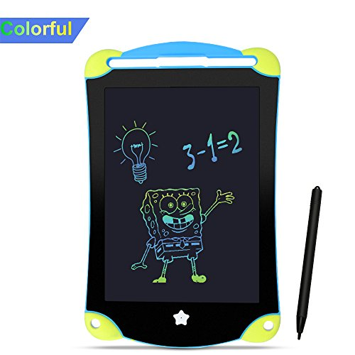 Grafiktabletts Lcd tablet 8.5-Zoll Schreibtafel malen tablet Papierlos Kinderspielzeug Lernspielzeug mit Schöne Farbe Bunter Schrifttyp super Geschenke für Kinder auch für Schülern Malen Büro Treffen