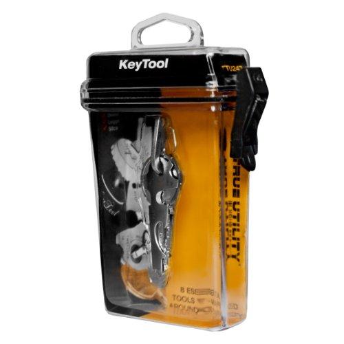41BI2QjmfbL. SS500  - KeyTool 8-in-1 Keyring Multi-tool, True Utility