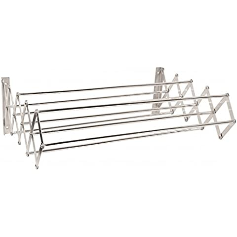 MSV MS140 - Tendedero extensible de pared, metal