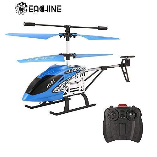 EACHINE H101 Radio Control Helicopter 3.5CH Infrared Remote Control Mini Drone with Gyroscope (Blue)