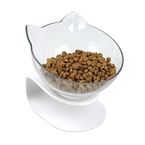 damncat Katze Futternapf mit erhabenen Ständer Pet Futternapf ideal für Katzen und kleine Hunde -