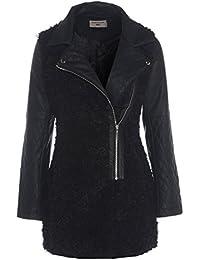 a5deaec34 Amazon.co.uk  Faux Fur - Coats   Coats   Jackets  Clothing