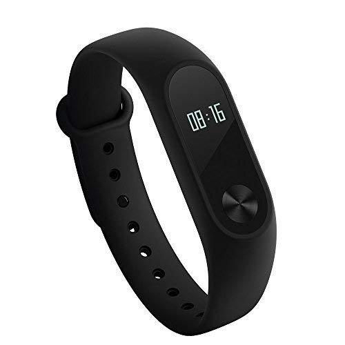 Xiaomi Mi Band 2Fitness Activity Tracker Smart Armband Herz Rate Monitor Bluetooth 4.0Schrittzähler Schlaf Monitor Sport Handgelenk Smartwatch Wasserdicht IP67Für Android und IOS [Global Version]