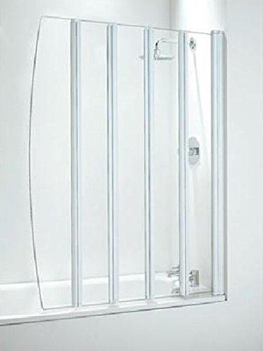coram-duschen-sfd5cuw-1400-mm-x-1060-mm-5-panel-badewanne-zusammenklappbar-bildschirm-mit-klares-gla