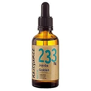 Naissance Jojobaöl Gold (Nr. 233) 50ml 100% reines, kaltgepresstes Öl