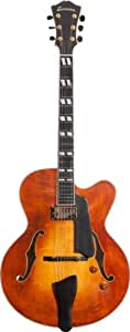 EASTMAN AR580CE HONEY BURST JOHN PISANO + ETUI