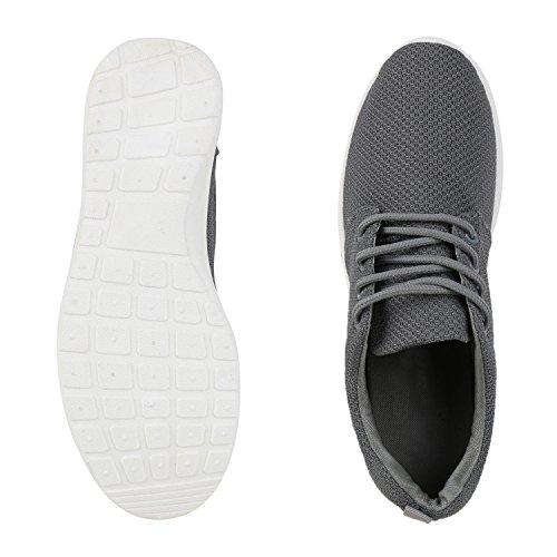 Scarpe Da Corsa Piatte Unisex Da Donna Da Uomo Profilo Suola Scarpe Sportive Sneakers Stringate Scarpe Casual Vanhill Grigio Scuro Bianco