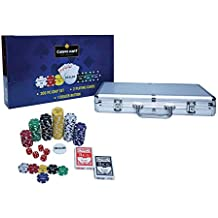 Casinokart Chip Pack Casino Quality with Denomination (300 Pieces Poker)