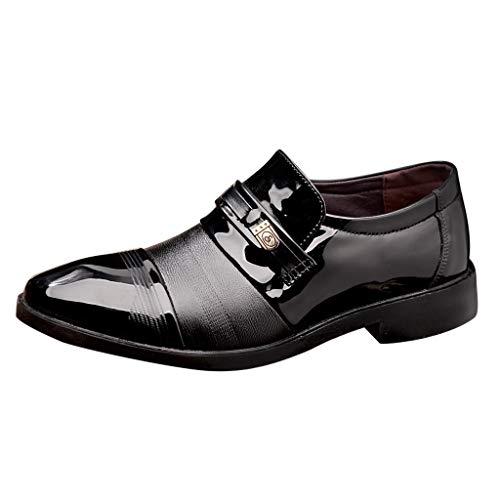 Masoness Mode Männer Klassische Komfortable Farbblock Helle Männliche Anzugschuhe Business Schuhe