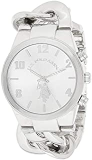 U.S. Polo Assn. Women's Quartz Watch, Analog Display and None Strap USC4