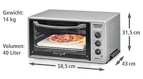 ROMMELSBACHER BG 1600 PizzAvanti Pizzaofen - 2