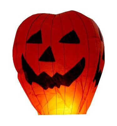 20Stück Kürbis Halloween Sky Laternen chinesischen Laternen-Sky Laternen LTD.