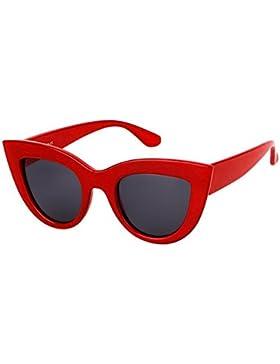 Ojos de gato Gafas de sol Gafas de sol vintage Mxssi Mujeres Street Shooting Glasses Sunglass retro UV400