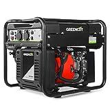 Greencut GRI300XM GRI300XM-Generador eléctrico Inverter Motor Gasolina 4 Tiempos OHV Salida 3kw 212cc