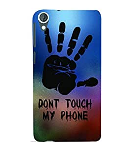 GADGET LOOKS PRINTED BACK COVER FOR HTC DESIRE 820 MULTICOLOR