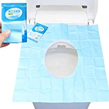 Sumaju - Fundas de papel para asiento de inodoro, 30 piezas, para viaje,