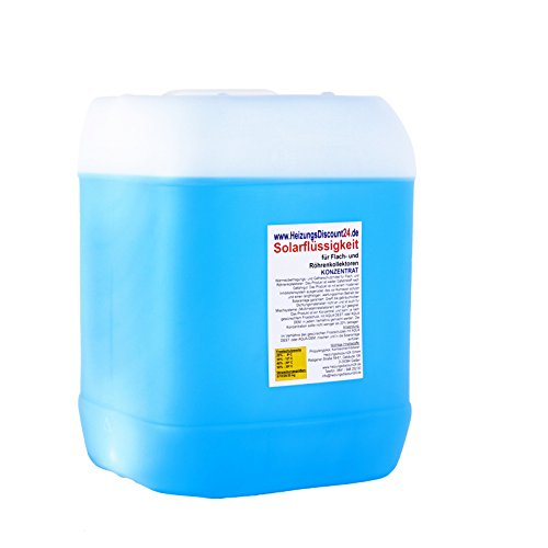 20 Liter Solarflüssigkeit Konzentrat bis -58°C Frostschutz, Solarfluid, Solarliquid, Wärmeträgermedium