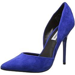 Steve Madden - Mocasines de Piel para mujer Negro negro Azul Size: 36.5