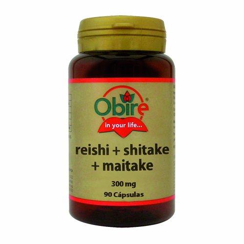 Obire Reishi Shitake Maitake - 90 Cápsulas