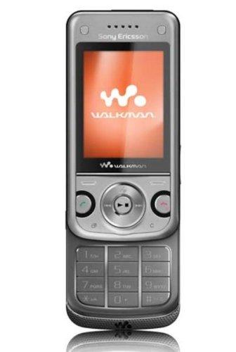 W-760 i Handy (3.2 MP Kamera, Mediaplayer Flux SSR Bluetooth Rocky Silver ()