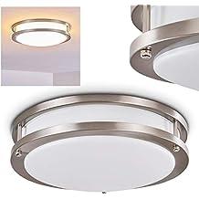 LED UP DOWN Wand Lampe Wohn Zimmer Strahler weiß Keramik Flur Leuchte Big Light